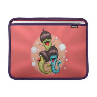 """WORMS ALIENS MONSTERS Macbook Air 13 """" MacBook Sleeve"""