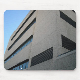 worm's eye building mouse pad