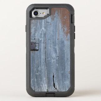 Worn and Rusty Wooden Door OtterBox Defender iPhone 7 Case
