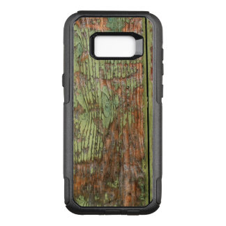 Worn and Weathered Green Barnwood OtterBox Commuter Samsung Galaxy S8+ Case