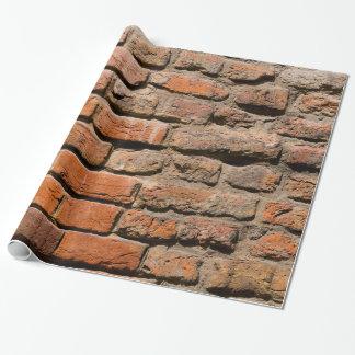 Worn Bricks Wrapping Paper