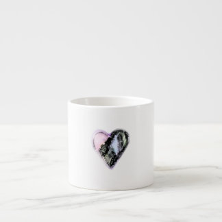 Worn Heart Espresso Cup