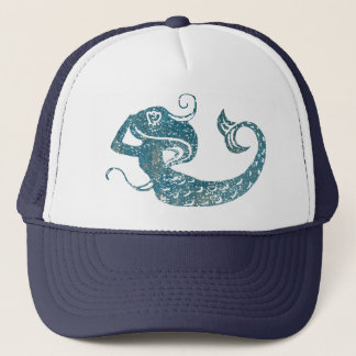 Worn Mermaid Trucker Hat