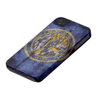 Worn Nebraska Flag; iPhone 4 Covers