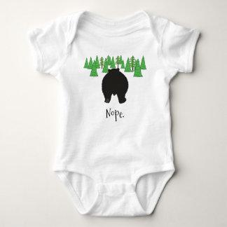 Worn Out Bear Baby Bodysuit