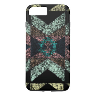 Worn-out tribal pattern. iPhone 7 plus case