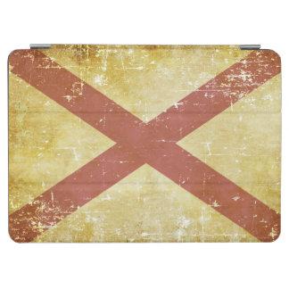 Worn Patriotic Alabama State Flag iPad Air Cover