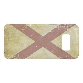 Worn Patriotic Alabama State Flag Uncommon Samsung Galaxy S8 Case
