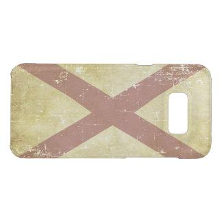Worn Patriotic Alabama State Flag Uncommon Samsung Galaxy S8 Plus Case