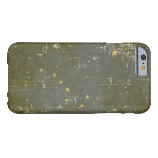 Worn Patriotic Alaska State Flag Barely There iPhone 6 Case