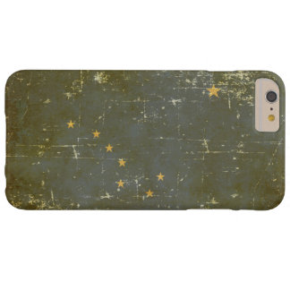 Worn Patriotic Alaska State Flag Barely There iPhone 6 Plus Case