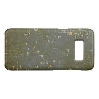 Worn Patriotic Alaska State Flag Case-Mate Samsung Galaxy S8 Case