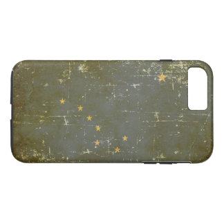 Worn Patriotic Alaska State Flag iPhone 8 Plus/7 Plus Case
