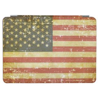 Worn Patriotic American Flag iPad Air Cover