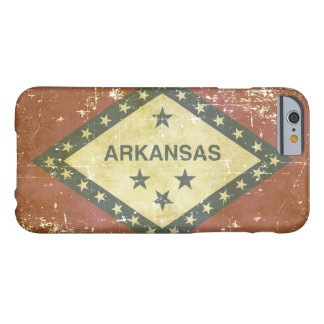 Worn Patriotic Arkansas State Flag Barely There iPhone 6 Case