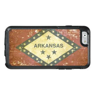 Worn Patriotic Arkansas State Flag OtterBox iPhone 6/6s Case