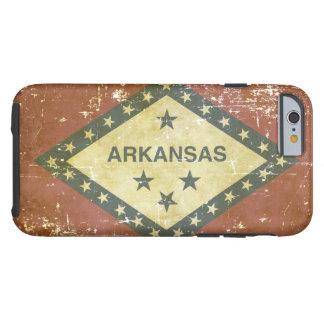 Worn Patriotic Arkansas State Flag Tough iPhone 6 Case