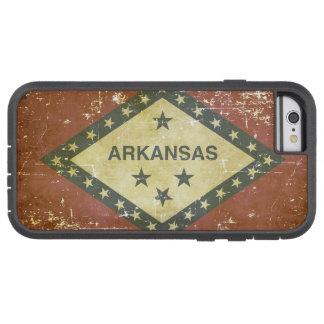 Worn Patriotic Arkansas State Flag Tough Xtreme iPhone 6 Case