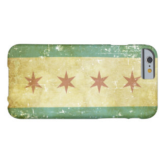 Worn Patriotic Chicago Flag Barely There iPhone 6 Case