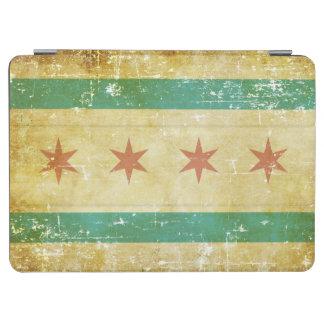 Worn Patriotic Chicago Flag iPad Air Cover