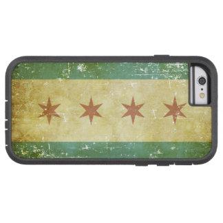 Worn Patriotic Chicago Flag Tough Xtreme iPhone 6 Case