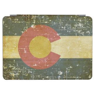Worn Patriotic Colorado State Flag iPad Air Cover
