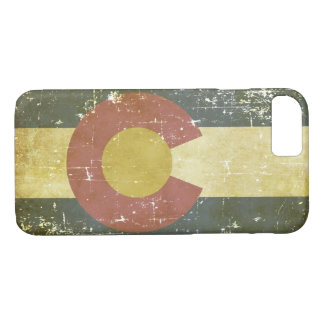 Worn Patriotic Colorado State Flag iPhone 8/7 Case