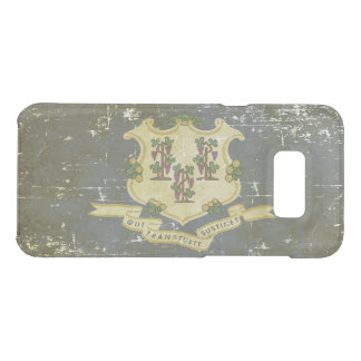 Worn Patriotic Connecticut State Flag Uncommon Samsung Galaxy S8 Plus Case