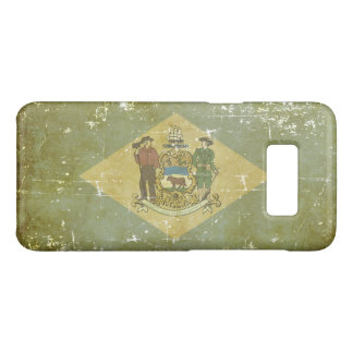 Worn Patriotic Delaware State Flag Case-Mate Samsung Galaxy S8 Case