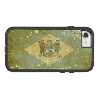 Worn Patriotic Delaware State Flag Case-Mate Tough Extreme iPhone 8/7 Case