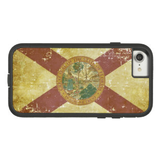 Worn Patriotic Florida State Flag Case-Mate Tough Extreme iPhone 8/7 Case