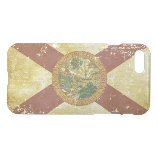 Worn Patriotic Florida State Flag iPhone 8/7 Case
