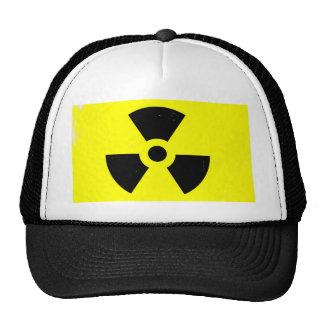 Worn Radioactive Warning Symbol Cap