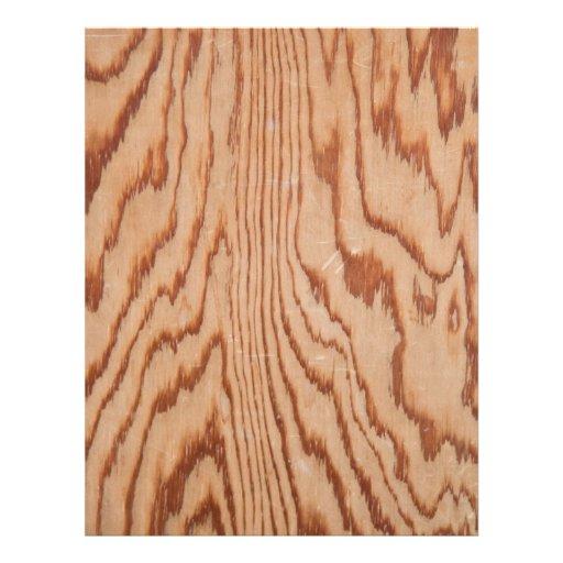Worn wood grain custom flyer