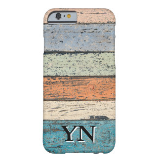 Worn Wood pattern Barely There iPhone 6 Case