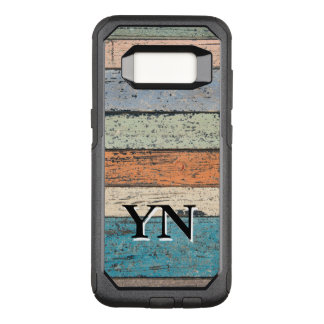 Worn Wood pattern OtterBox Commuter Samsung Galaxy S8 Case