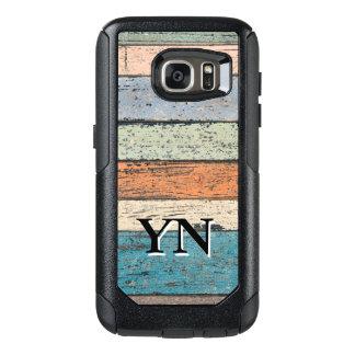 Worn Wood pattern OtterBox Samsung Galaxy S7 Case