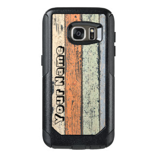 Worn Wood pattern OtterBox Samsung Galaxy S7 Case
