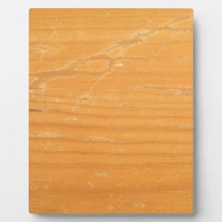 Worn Wood Photo Plaque