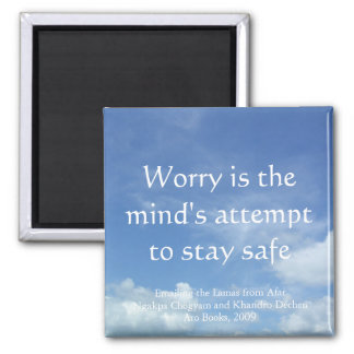Worry (sky) [magnet] magnet