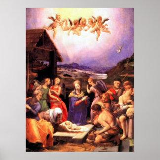 Worship of the Shepherds - Bronzino Print