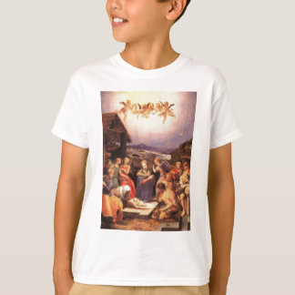 Worship_of_the_shepherds_by_bronzino T-Shirt