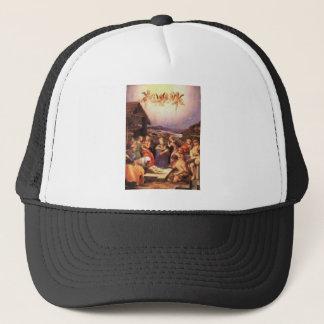 Worship_of_the_shepherds_by_bronzino Trucker Hat