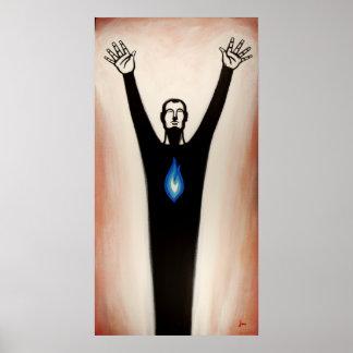 Worshiping Man Poster