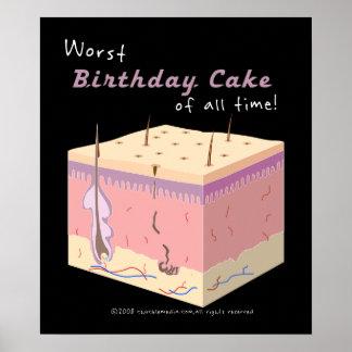 Worst Cake Poster