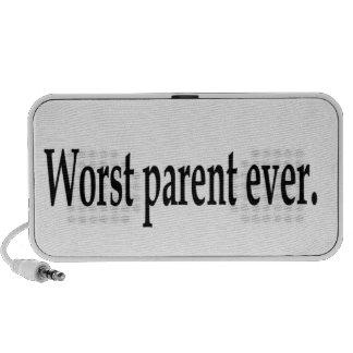 Worst parent ever travel speakers