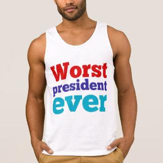 Worst President Ever Singlet