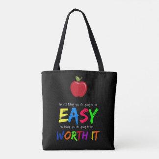 Worth it tote bag
