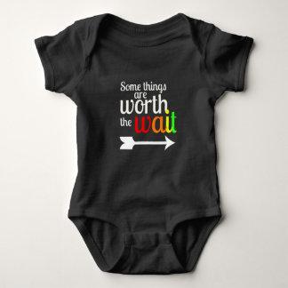 Worth the Wait Baby Bodysuit