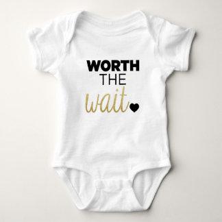 Worth The Wait. Baby Bodysuit